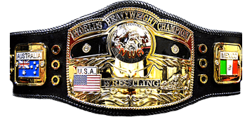 NWA World Heavyweight Championship Belt