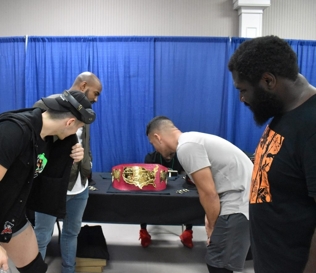 4 of the 8 Challengers to become NWA National Champion on October 21st 2018.